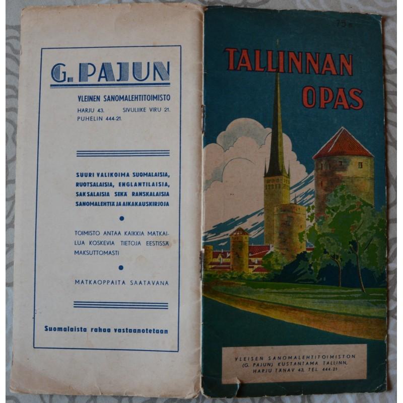 Tallinnan opas vuodelta 1937