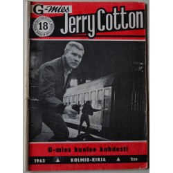 Jerry Cotton 18  1965...