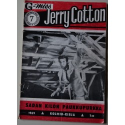 Jerry Cotton 7  1969  Sadan...